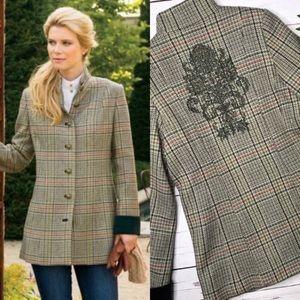 SOFT SURROUNDINGS | sz XS Chatham equestrian coat